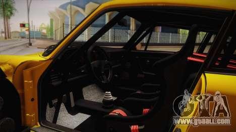RUF CTR Yellowbird (911 930) 1987 for GTA San Andreas inner view