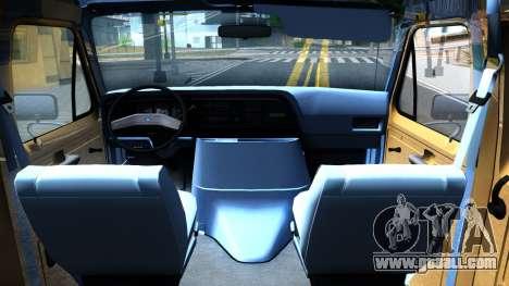 Ford E-250 Extended Van 1979 for GTA San Andreas inner view