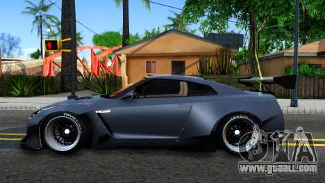 Nissan GT-R35 Rocket Bunny for GTA San Andreas left view