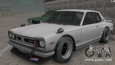 Nissan Skyline 3100 GT-Kai for GTA San Andreas back view