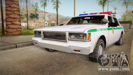 Brute Stainer 1993 Park Ranger for GTA San Andreas