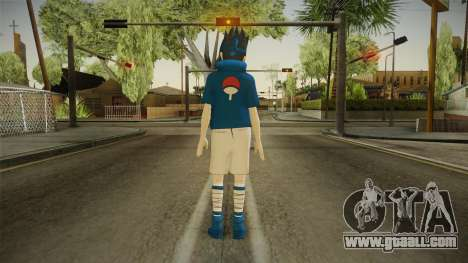 NUNS4 - Sasuke Genin Normal Eyes for GTA San Andreas