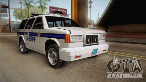 Albany Landstalker 1992 Flint County Sheriff for GTA San Andreas right view
