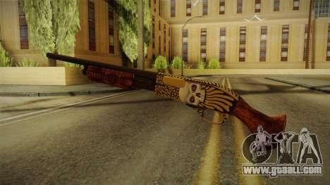 Vindi Halloween Weapon 2 for GTA San Andreas third screenshot