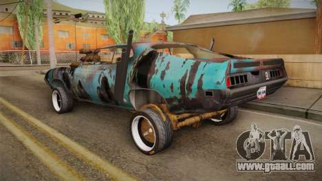 Ford Gran Torino Mad Max for GTA San Andreas left view