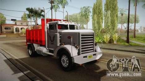 Peterbilt 351 Dump Truck for GTA San Andreas