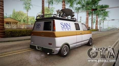 GTA 5 Declasse Burrito News for GTA San Andreas
