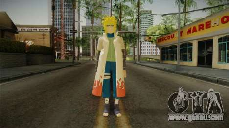 Minato Hokage Outfit for GTA San Andreas second screenshot