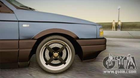 Volkswagen Passat B3 2.0 for GTA San Andreas back left view
