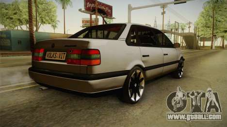 Volkswagen Passat B4 2.0 for GTA San Andreas left view