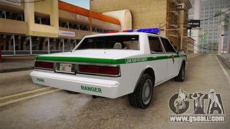 Brute Stainer 1993 Park Ranger for GTA San Andreas left view
