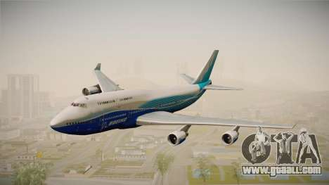 Boeing 747-400 House for GTA San Andreas