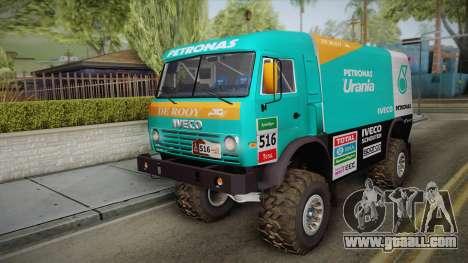 Iveco Petronas De Rooy for GTA San Andreas