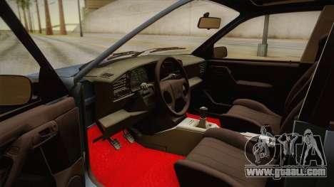 Volkswagen Passat B3 2.0 for GTA San Andreas inner view