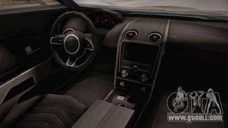 GTA 5 Vapid FMJ Roadster for GTA San Andreas back view