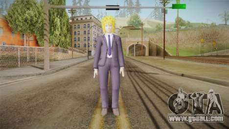 Minato Business Suit for GTA San Andreas second screenshot