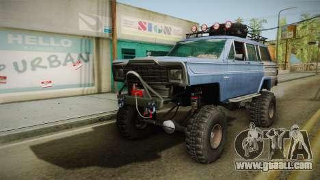 Jeep Wagoneer Off Road for GTA San Andreas