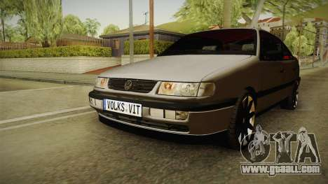 Volkswagen Passat B4 2.0 for GTA San Andreas right view