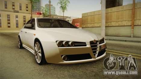 Alfa Romeo 159 for GTA San Andreas