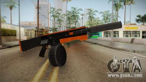 Orange Weapon 2 for GTA San Andreas