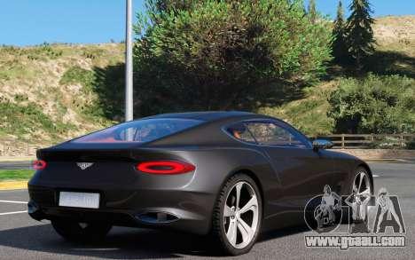 GTA 5 Bentley EXP 10 Speed 6 rear left side view