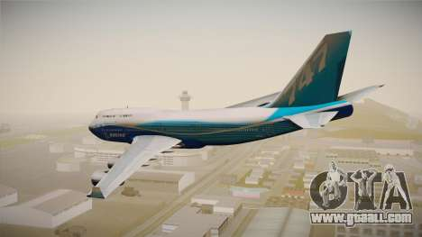 Boeing 747-400 House for GTA San Andreas left view
