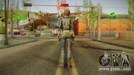 Sudden Attack 2 - Female Blue for GTA San Andreas third screenshot