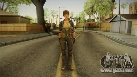 Sudden Attack 2 - Female Blue for GTA San Andreas second screenshot