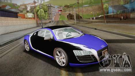 Audi Le Mans Quattro 2005 v1.0.0 PJ for GTA San Andreas inner view
