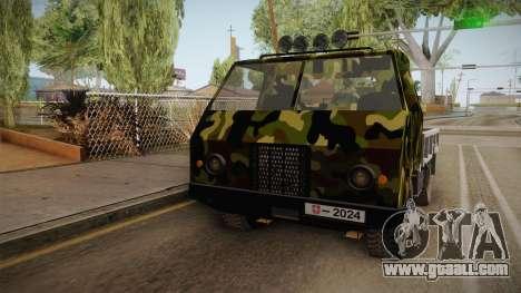 TAM 110 Vojno Vozilo v2 for GTA San Andreas