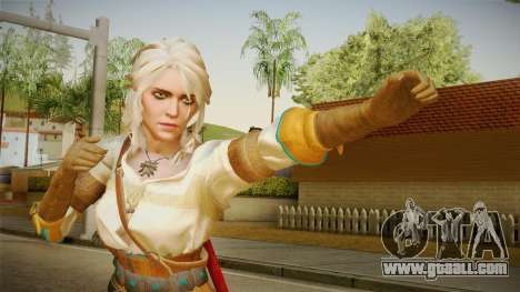 Witcher 3 - Ciri for GTA San Andreas