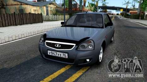 VAZ 2170 V3 for GTA San Andreas