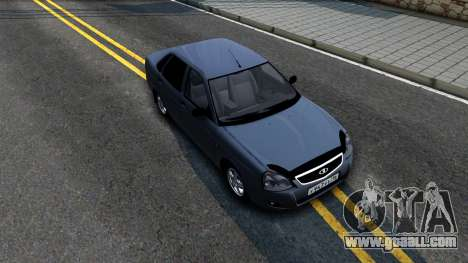 VAZ 2170 V3 for GTA San Andreas right view
