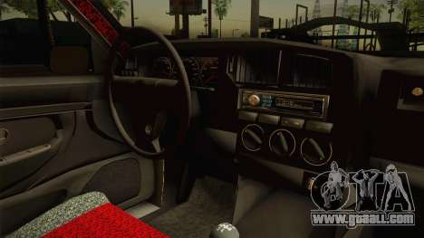 Volkswagen Passat B4 2.0 for GTA San Andreas inner view