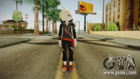 Pokémon Sun (Moon) - Gladion for GTA San Andreas second screenshot