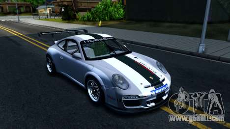 Porsche 911 GT3 Cup for GTA San Andreas inner view