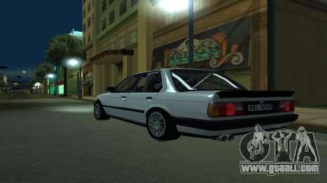 BMW 325i E30 for GTA San Andreas left view