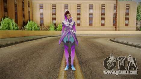 Overwatch - Sombra for GTA San Andreas second screenshot
