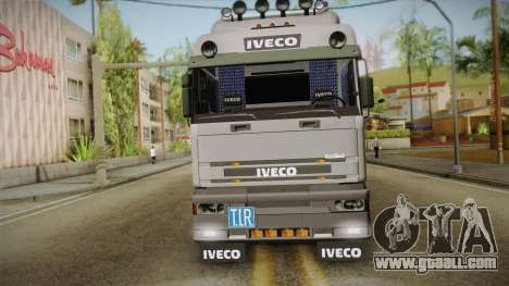 Iveco Eurotech 400E34 Tandem v2.0 for GTA San Andreas right view