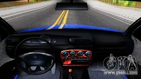 Opel Omega B 1998 for GTA San Andreas inner view