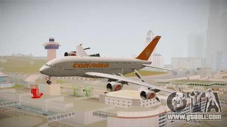 Airbus A380-861 Conviasa for GTA San Andreas