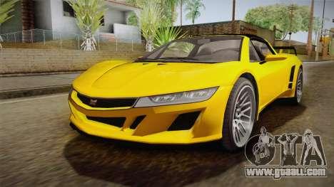 GTA 5 Dynka Jester Spider IVF for GTA San Andreas