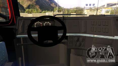 GTA 5 VOLVO FH right side view