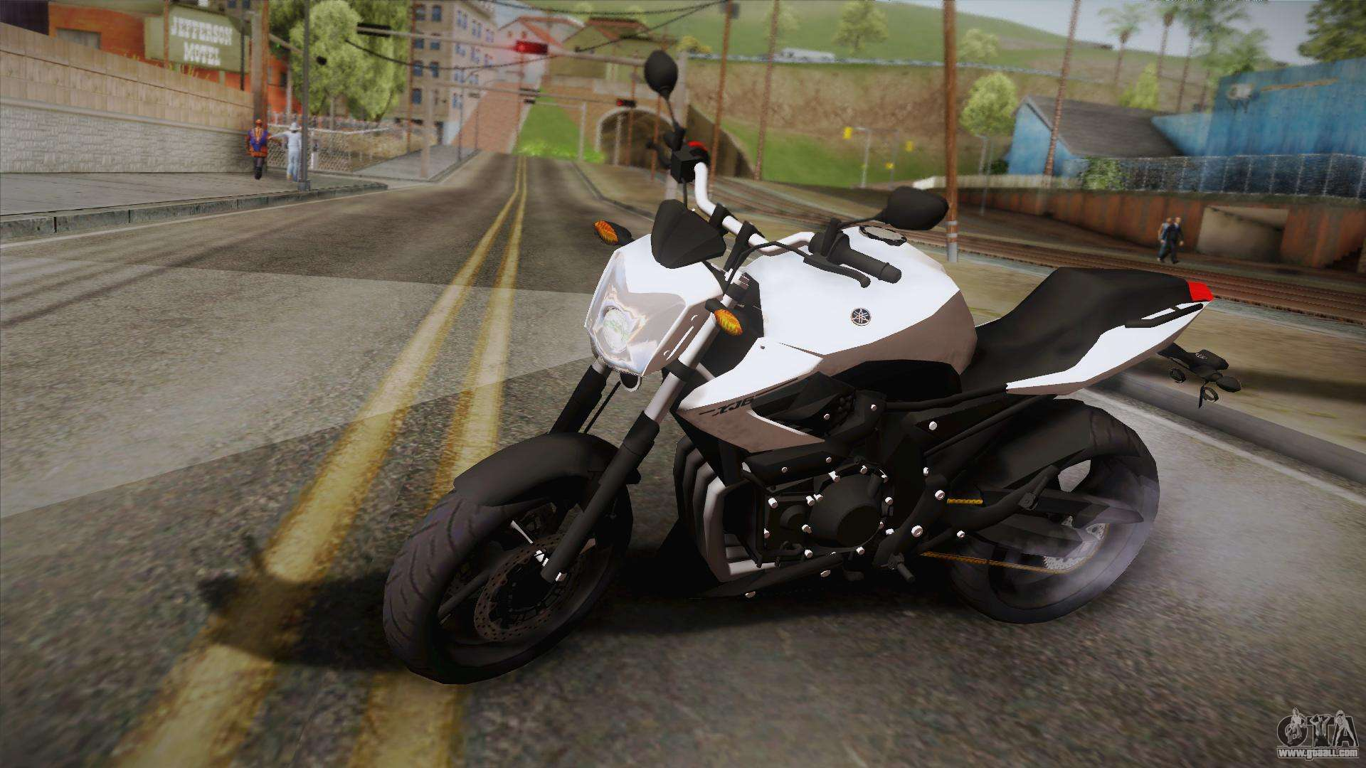 yamaha xj6 2013 for gta san andreas. Black Bedroom Furniture Sets. Home Design Ideas