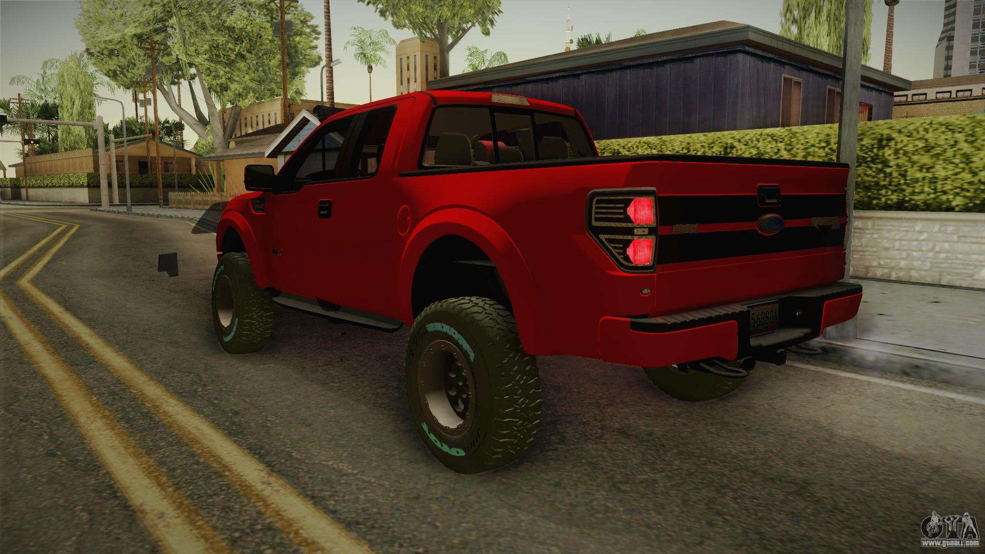ford f 150 raptor 2014 for gta san andreas. Black Bedroom Furniture Sets. Home Design Ideas