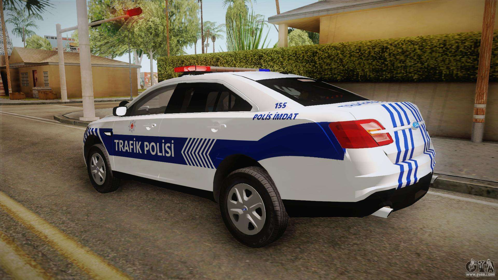 ford taurus turkish traffic police for gta san andreas. Black Bedroom Furniture Sets. Home Design Ideas