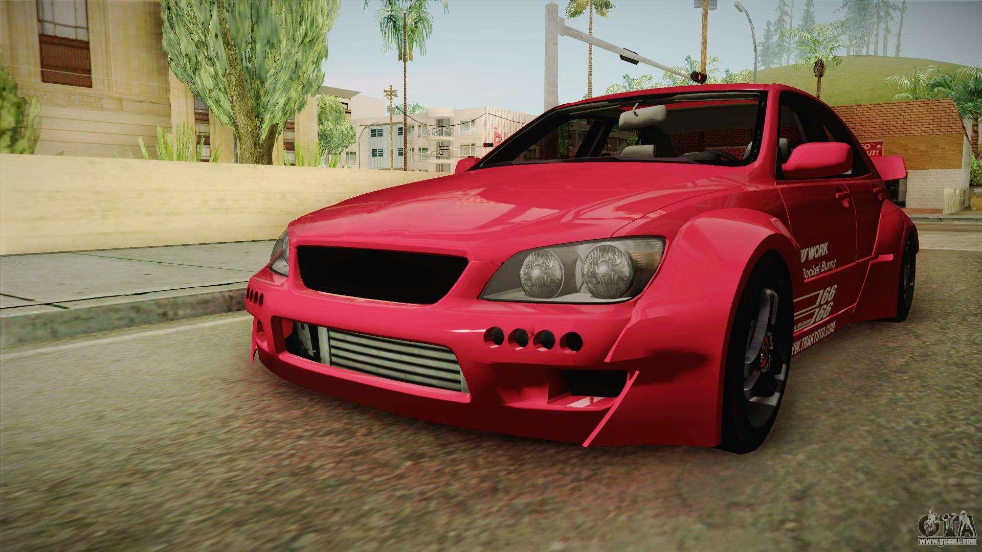 Lexus Is 300 Custom U003eu003e Lexus IS300 Rocket Bunny For GTA San Andreas