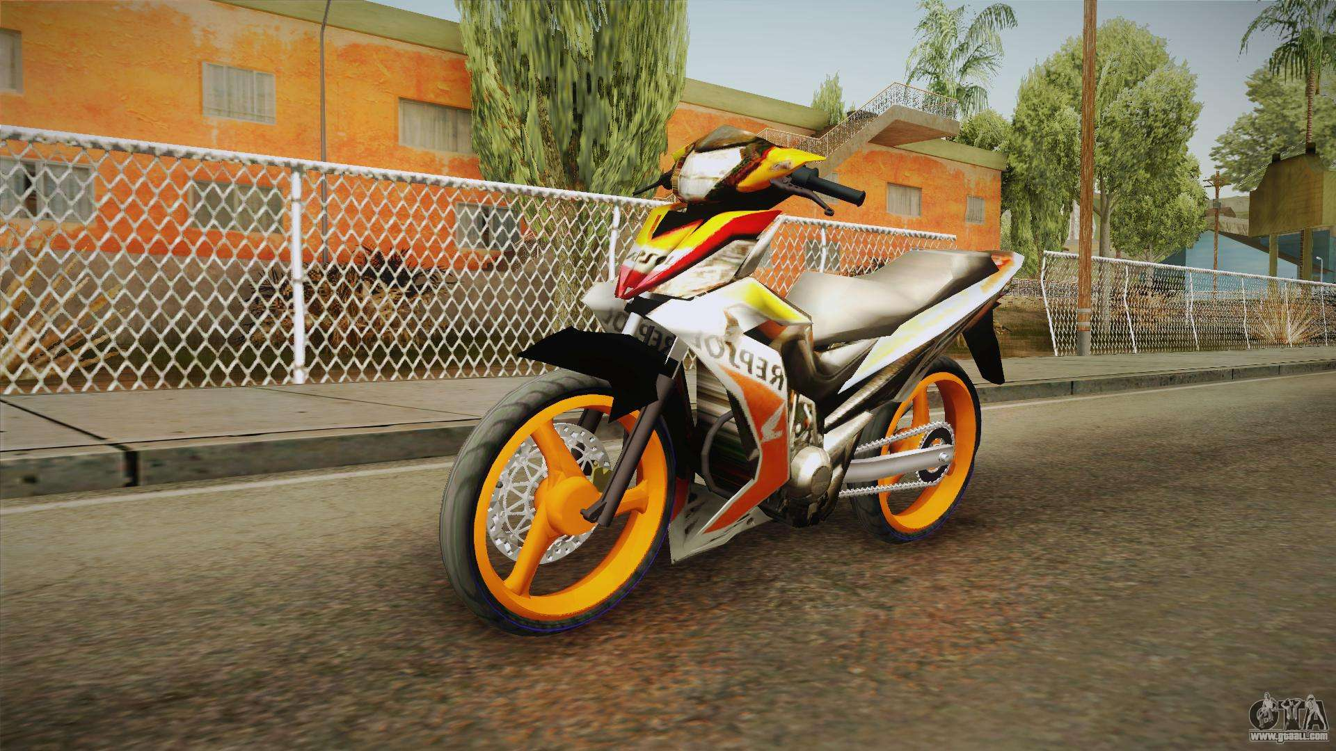 honda rs150 repsol version for gta san andreas. Black Bedroom Furniture Sets. Home Design Ideas