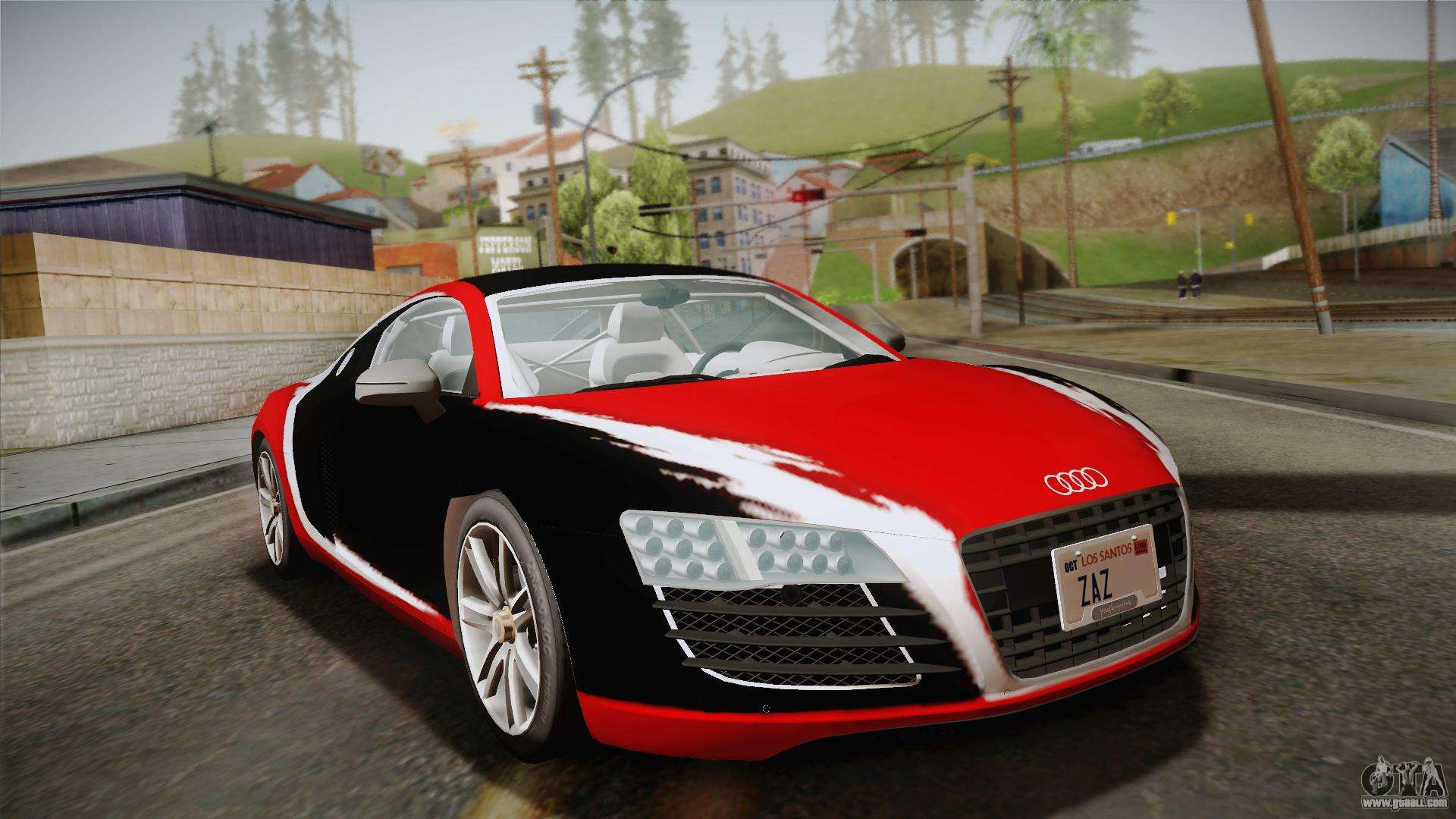 audi le mans quattro 2005 v1 0 0 pj for gta san andreas. Black Bedroom Furniture Sets. Home Design Ideas