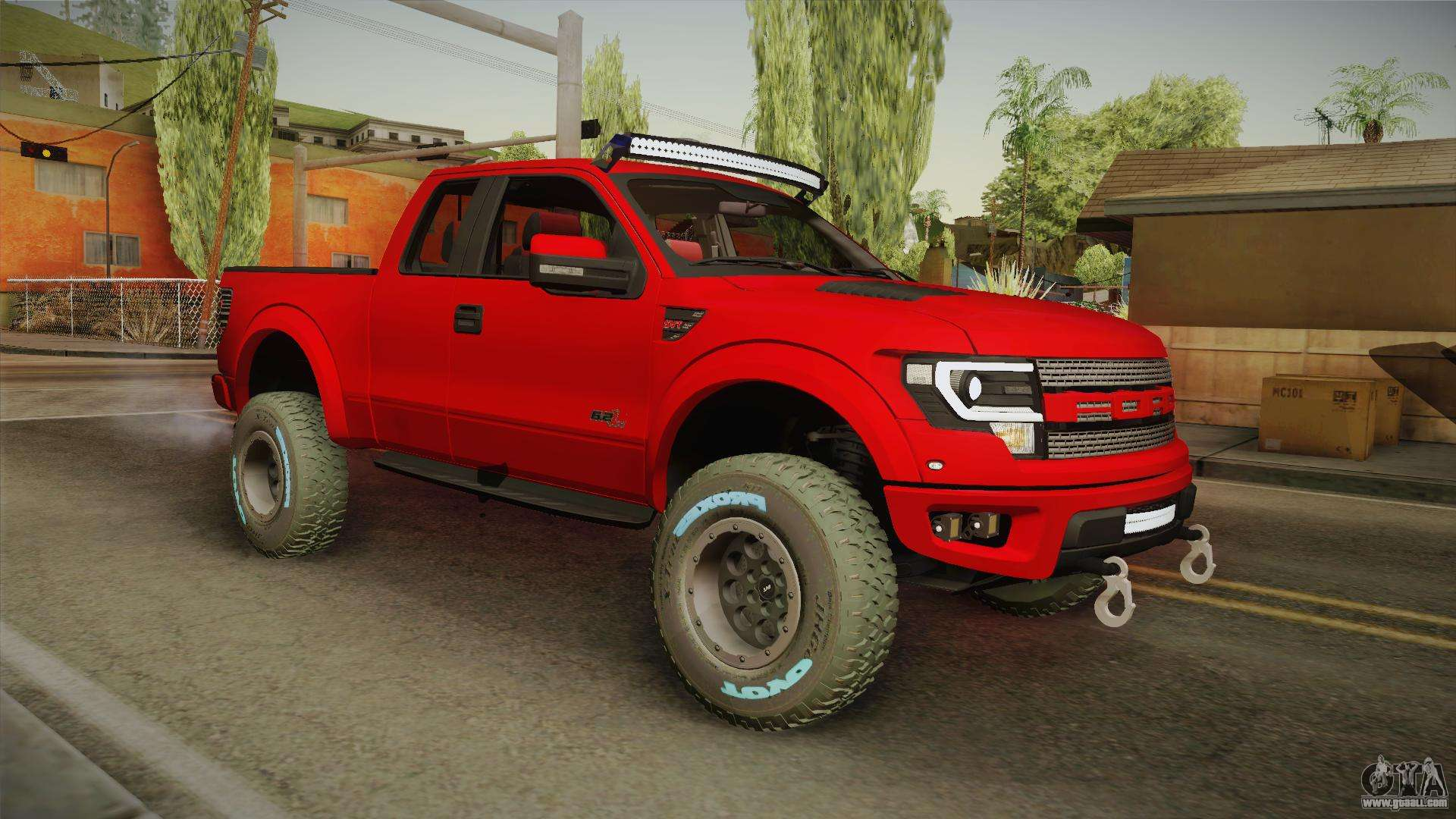 ford f150 raptor 2014 for gta san andreas
